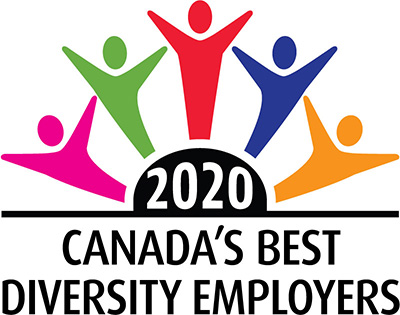 Canada's best employers 2020 logo